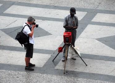 Fotografos en Cuba
