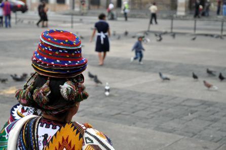En la plaza, Guatemala