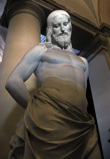 Cristo de marmol