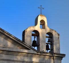 Campanario de la Iglesia de Tanti, Córdoba