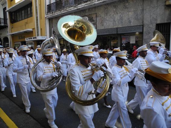 Parade en San Juan de Puerto Rico