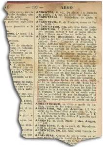 Argentina en el Diccionario