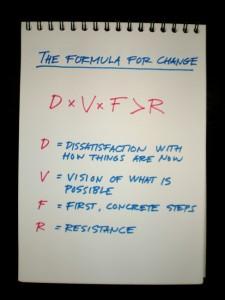 Fórmula del cambio de Gleicher