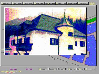Captura de pantalla - Muestra de fotografías en formato PCX -