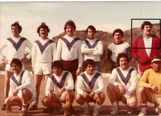 Daniel Torres en el Equipo de fútbol de Topografía