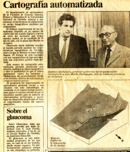 Cartografía digital de Córdoba