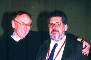 Jack  Dangermond y José Ciampagna