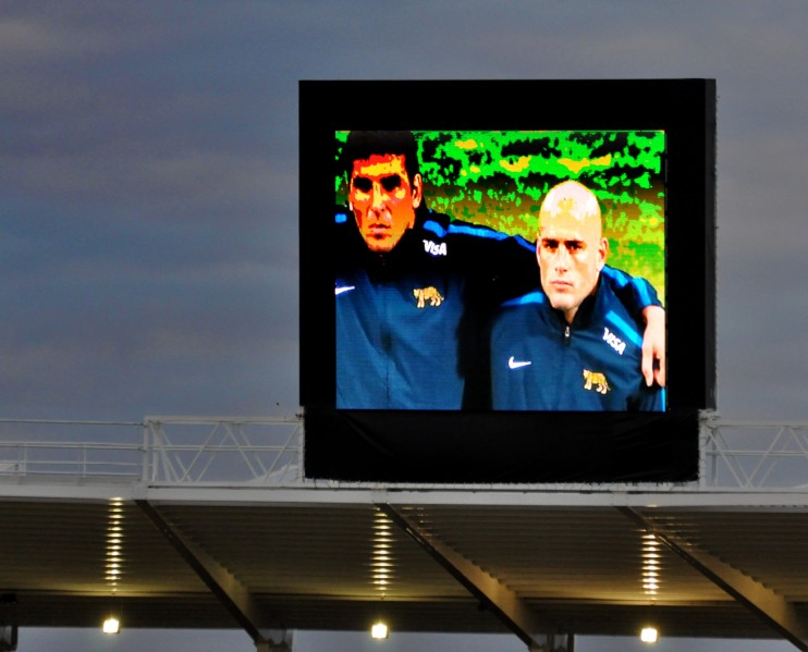 Pantalla en el estadio 1