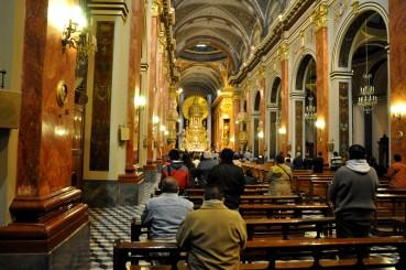 Interior Catedral de Salta
