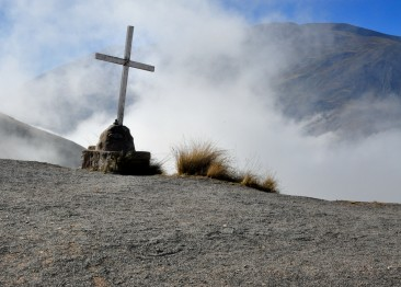 Cruz en San Rafael - cima cuesta del Obispo-