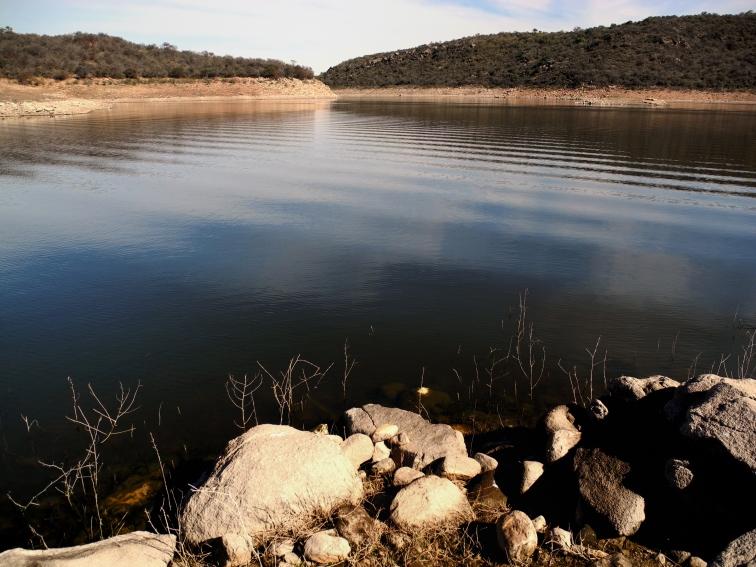 """El lago del dique """"La viña"""""""