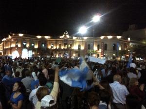 Protesta 13-9-2012 frente Patio Olmos