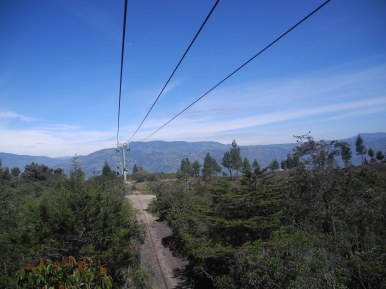 Para llegar: cable carril