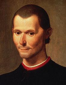 Rostro de Maquiavelo
