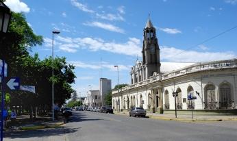 Calle principal Villa Constitución