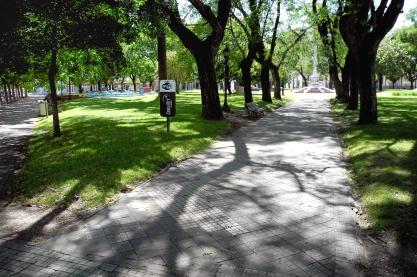 La plaza de Villa