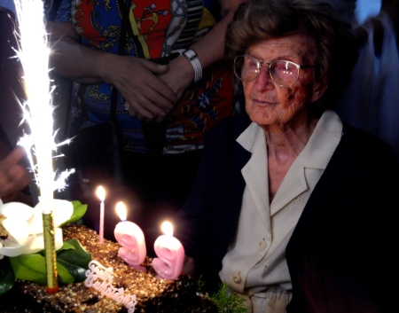 Cumpleaños 99 de Pichina