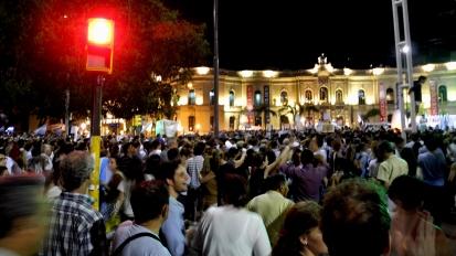 8N - Imagen frente a Patio Olmos, Córdoba, 8 de noviembre 2012