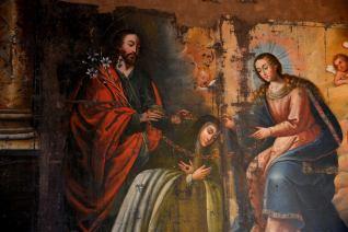Pintura en el Museo