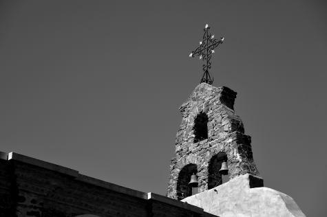 La cruz de la capilla