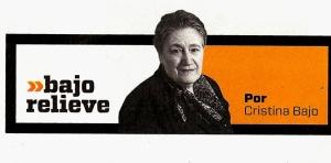 """""""Bajo Relieve"""" de Cristina Bajo"""