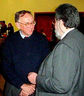 Con Jack Dagermond, Santa Cruz de la Sierra, Latin American User Conference, Bolivia,