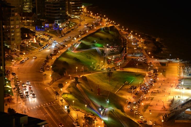 Mar del Plata nocturna