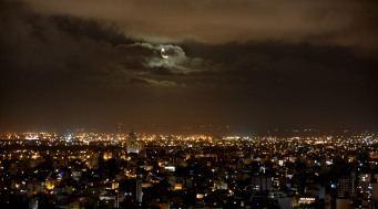 luna en Mar del Plata