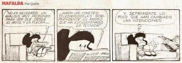 Mafalda nos rompe la cabeza