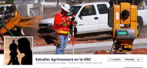 Estudiar Agrimensura en la UNC