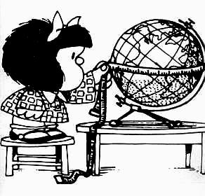 Mafalda geodesta