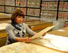 Juana Barrera y planos