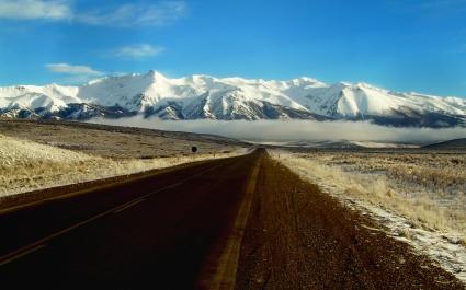 Nube baja en Ruta 40
