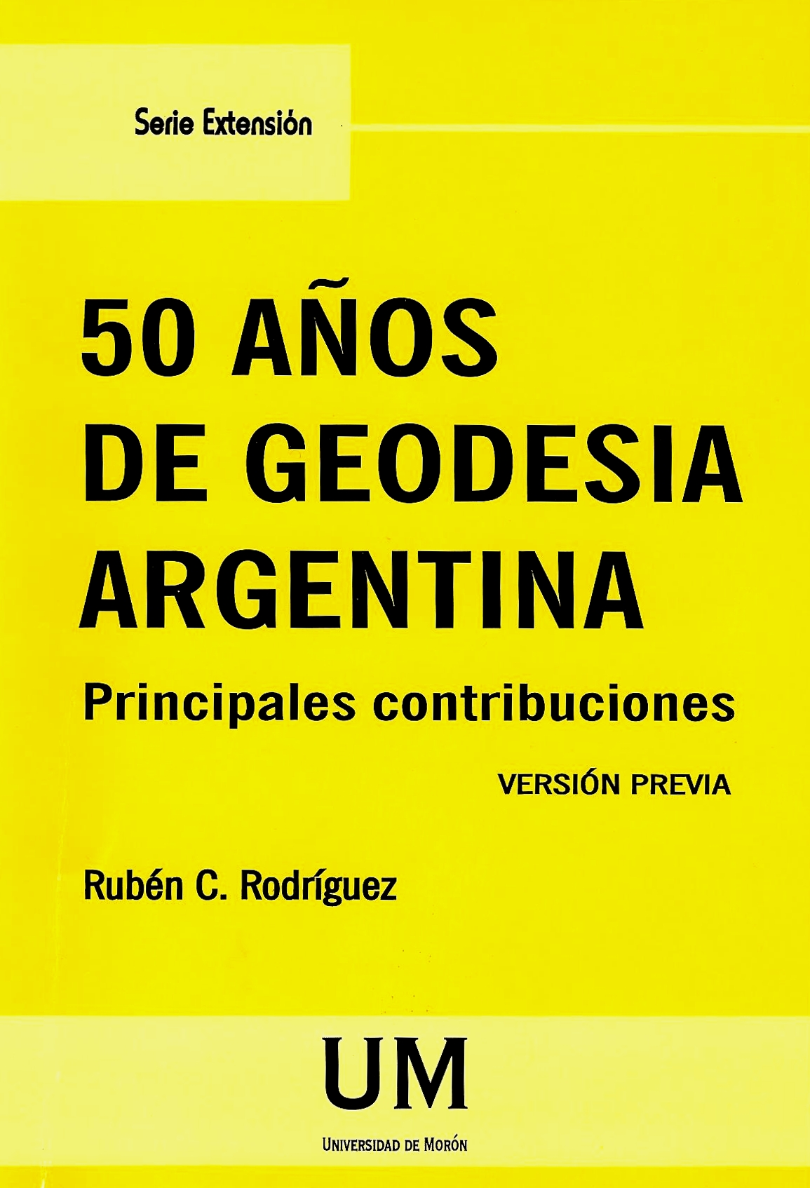 50 Años de Geodesia Argentina