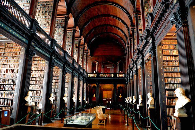 Biblioteca Trinity College 2
