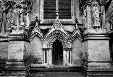 Puerta lateral Catedral de Salisbury