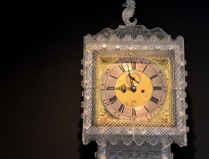 Caja de reloj de cristal