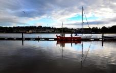 Atardecer en el Puerto de Waterford
