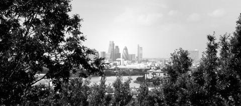 Vista de Londres desde la colina