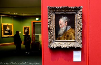 Cuadro de San Ambrosio pintado por Rubens. Galería Nacional de Arte de Escocia