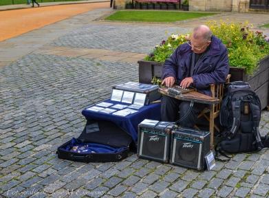 Músico en York