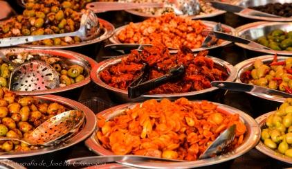 Oferta gastronómica al paso