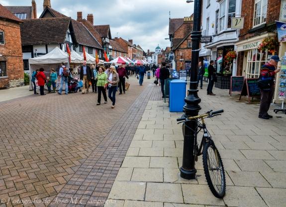 Calle peatonal de Stratford-upon-Avon