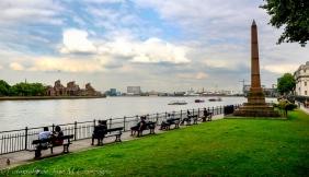 Vista del Támesis en Greenwich