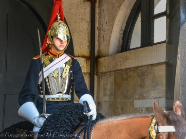 Guardia Real a caballo
