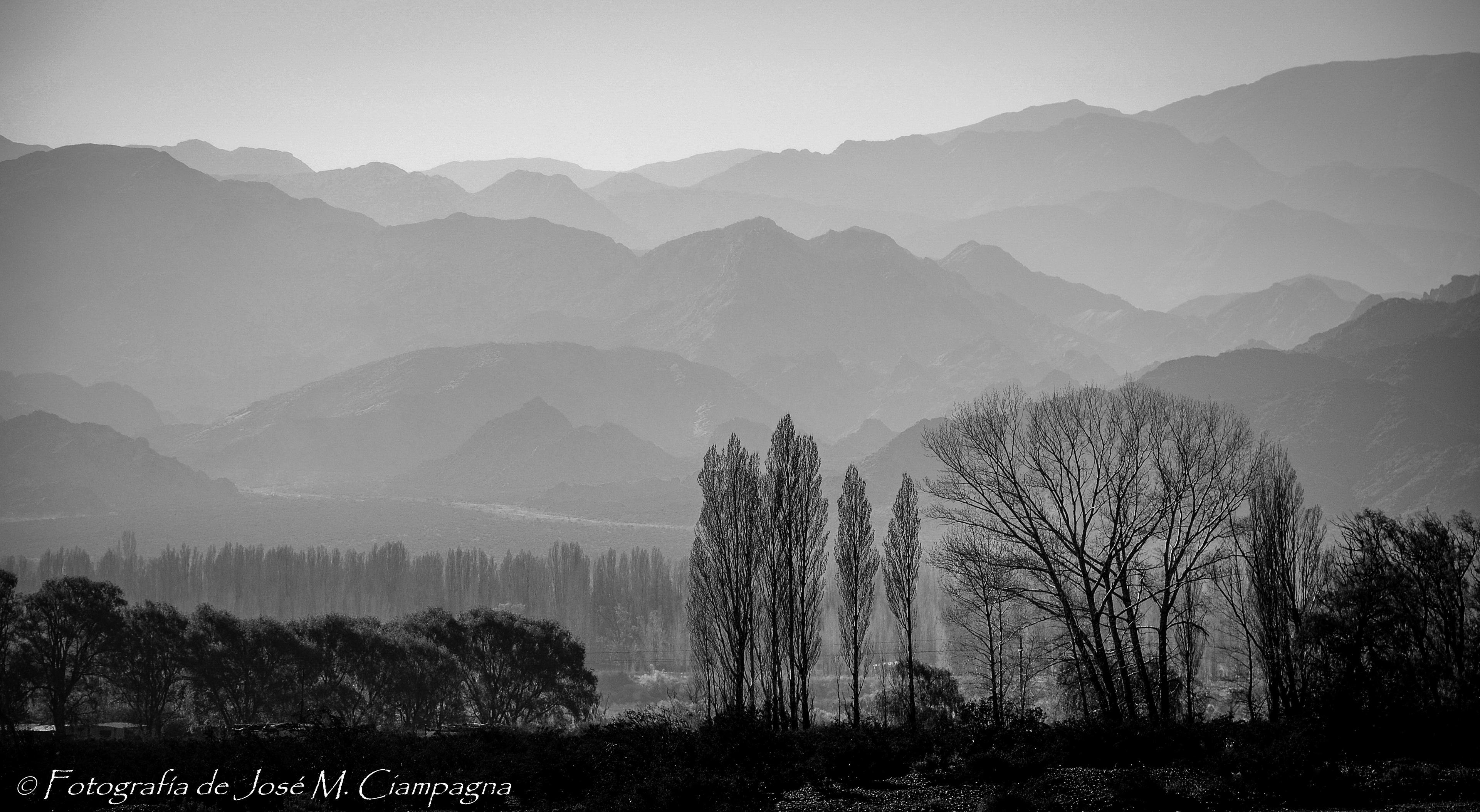 Cordillera de los Andes, Mendoza, Argentina.
