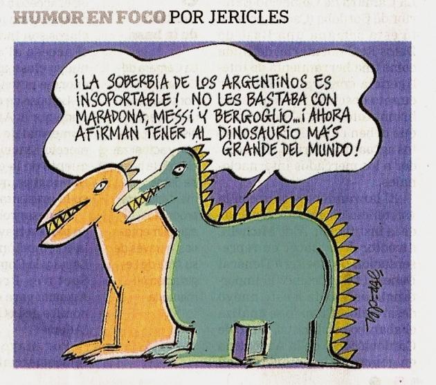 Argentinos y y los dinosaurios