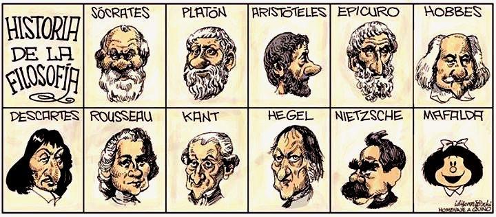 Resultado de imagen de historia de la filosofia dibujos