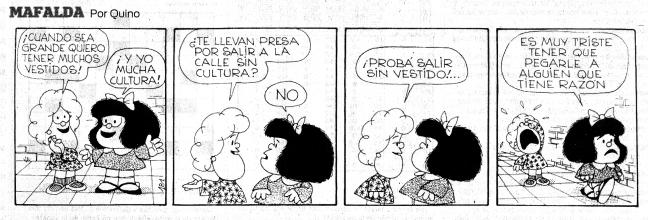 Mafalda y la cultura