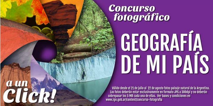 Concurso fotográfico IGN